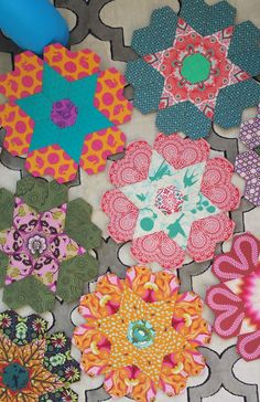 After having Adrian, when I was finally ready to start quilting again, I needed a fresh project to focus on. I started scrolling blogs for t...