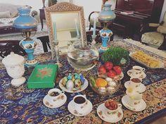 "628 Likes, 37 Comments - FaribA (@faribbbbba) on Instagram: "". .  برخیز که میرود زمستان بگشای در سرای بستان نارنج و بنفشه بر طبق نه منقل بگذار در شبستان وین…"""