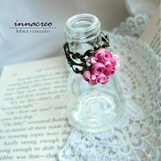 _innacreo_ / _ružová záhrada_ prsteň pink garden - ring - polymer clay