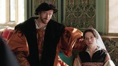 """""""Wolf Hall"""", TV series, Claire Foy as Anne Boleyn. Anne Boleyn Tudors, Wolf Hall, Two Wolves, Bbc Two, Queen Of England, Beautiful Costumes, Queen Anne, Movie Tv, Tv Series"""