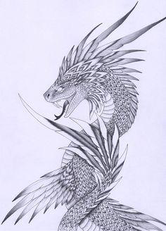 Quetzalcoatl Tagg by verreaux