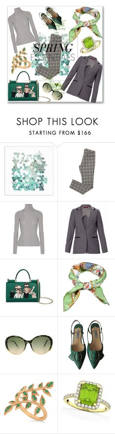 """Spring Essentials"" by rita257 ❤ liked on Polyvore featuring Universal Lighting and Decor, Acne Studios, WtR, Dolce&Gabbana, Gucci, Victoria Beckham, Prada and Allurez"