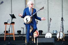 """""""I remember getting my first banjo, and reading the book saying 'this is how you play the C chord,' and I put my fingers down to play the C chord and I couldn't tell the difference.""""    """"But I told myself,"""" he continued, """"just stick with this, just keep playing, and one day you'll have been playing for 40 years, and at this point, you'll know how to play.""""  -  Steve Martin"""