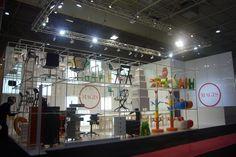 Stand MAGIS - Maison & Objet 2011 - Parigi. Progettazione ed allestimento Studio Arch. Matteo Calvi