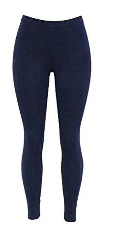 Wofupowga Girl Soft Stretchy Cotton Color Block Pull On Tight Comfort Leggings