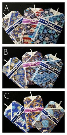 Japanese Kimono Gift Card Indigo plant by karaku ... on Etsy ...