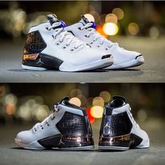 """The Nike Air Jordan 17 Retro """"Copper"""" is available to preorder at kickbackzny.com."""