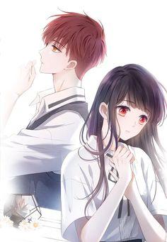 Anime Cupples, Anime Couples Manga, Cute Anime Couples, Kawaii Anime, Anime Guys, Cute Cartoon Images, Cartoon Pics, Anime Girl Dress, Anime Art Girl
