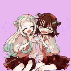Nene e Hanako Genderberd (Jibaku Shounen Hanako-kun) Top Anime, Manga Anime, Otaku Anime, Girls Anime, Kawaii Anime Girl, Anime Guys, Hxh Characters, Cute Anime Wallpaper, Character Drawing