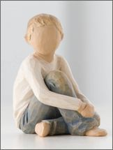 Willow Tree Figurine - Caring Child