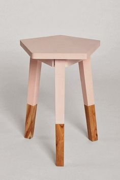 UO pentagon dipped side table