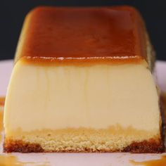 Desserts Recipes Purunpurun ♪ two layers of pudding cake Delicious Desserts, Yummy Food, Cold Desserts, Flan Recipe, Pudding Cake, Sweet Recipes, Baking Recipes, Food And Drink, Tasty