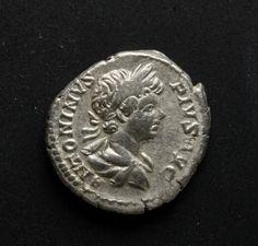 Emperor Caracalla Silver Coin