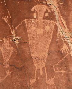 ~ Petroglyph ~ Dinosaur National Monument, Utah....