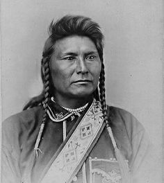 (2) Chief Joseph (aka Joseph II) (1840-1904), Nez Percé. - Undoubtedly, his is one of the saddest and darkest stories in American history. His only sin was that he did his best to get Washington to honor its treaties with his people. His was the genius in the Nez Percé War, as he fought and retreated with his 250 warriors over 1,600 miles of Washington, Oregon, Idaho, and Montana. (...) Photo by Frank Jay Haynes, 1877.