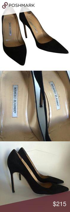 Manolo Blahnik BB Pumps Black BB pumps size 39 Manolo Blahnik Shoes Heels