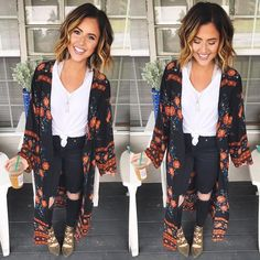 """382 Likes, 10 Comments - Forget Me Knot (@forgetmeknotandco) on Instagram: """"This girl tho! Always looking so Fab! She's wearing our Mix Duster!  @nicole_huntsman . . . .…"""""""