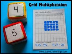 Great math games for elementary grades...FREE and printable with photos and instructions!!!