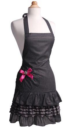 Black and white polka dot with pink bow jesslovesdrew44