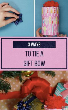 Make your gifts look like they were wrapped by a pro with these three creative bow ideas!
