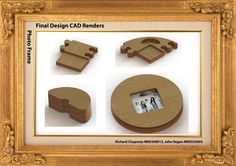 Photo Frame CAD/CAM Project on Behance