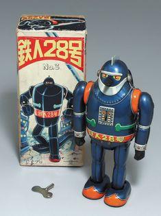 野村トーイ/日本製 鉄人28号NO.3 Vintage Toys 1960s, Vintage Robots, Retro Robot, Retro Toys, Robot Monster, Japanese Robot, Robots Characters, Old School Toys, Space Toys