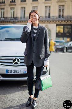 Liu Wen Street Style Street Fashion by STYLEDUMONDE