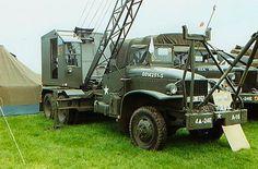 GMC CCKW 353 with 4-ton Crane