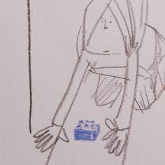 Shinobu Wada. I found a LEGO #lego #drawing #pencildrawing #illustration