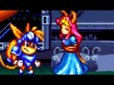 Sparkster (SNES) All Bosses (No Damage)
