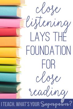 Close listening lays
