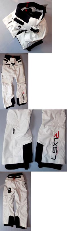 Snow Pants and Bibs 36261: Rlx Ralph Lauren Black White Waterproof Ski Pant W Recco Rescue Technology Sz S -> BUY IT NOW ONLY: $200 on eBay!