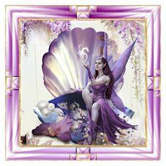 """Purple Art!"" by kari-c ❤ liked on Polyvore featuring art"
