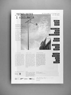 """Laia Guarro: """"Lanthanum Ejecución de un proyecto es tanto oder mehr wichtig zu Gunsten von die Idee"""" - Graphic Drawing Page Layout Design, Magazine Layout Design, Graphic Design Layouts, Graphic Design Typography, Web Design, Logo Design, Editorial Design Magazine, Editorial Page, Magazine Layouts"""