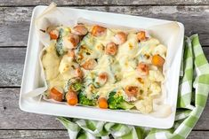 Kesäpäivän kasvisgratiini Fresh Rolls, Potato Salad, Veggies, Potatoes, Meat, Chicken, Healthy, Ethnic Recipes, Food