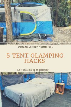 Go from camping to glamping with these 5 easy hacks