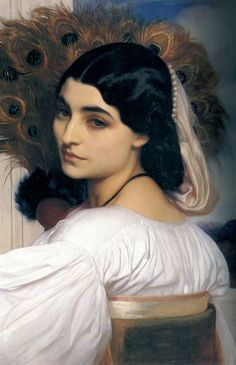 Pavonia by Frederick Leighton  Discover the coolest shows in New York at www.artexperience...