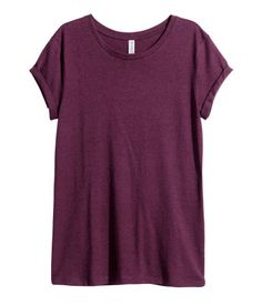H&M Jersey Top $10 : Short-sleeved top in jersey with sewn cuffs.