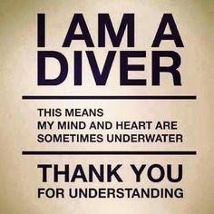 I am a diver
