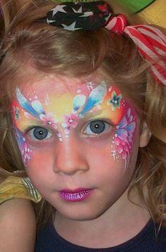 Fairy face paint by BrierleyThorpe