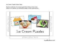 ice cream puzzles and other unit