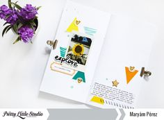 Maryam Perez for Pretty Little Studio using the Summer Vibes collection by Hello Heather
