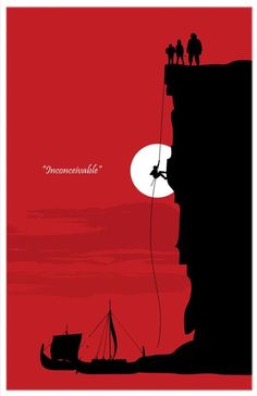 Inconceivable Minimalist Movie Poster [BigTimePosters on Etsy]