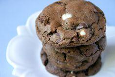 White Chocolate Mocha Cookies