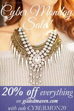 Get all your girlfriend's Christmas gifts in one place! Gorgeous statement necklaces at SUPER CHEAP prices! Hurry!