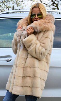 Pearl Velvet Royal Saga Mink Fur Cites Lynx Rufus Coat Jacket Sable Chinchilla | eBay