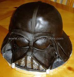 darth vader star wars cake
