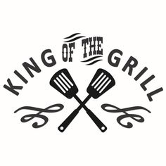 King of the grill Silhouette Curio, Silhouette Cameo Projects, Silhouette Design, Silhouette Cameo Files, Vinyl Crafts, Vinyl Projects, Grill Apron, Bbq Apron, Cricut Vinyl