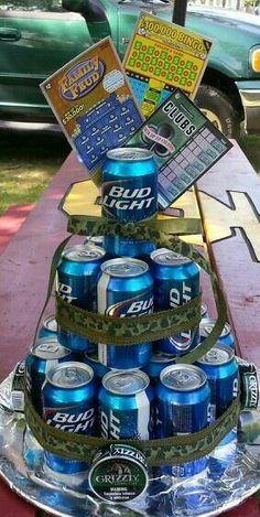 Beer bday cake