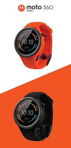 Amp up your workout routine this summer with the Moto 360 Sport. It offers built-in GPS and wifi connectivity, so you have everything you need to stay focused while getting in shape. With 3 sporty colors to choose from, it will quickly become your favorite and most stylish fitness accessory!